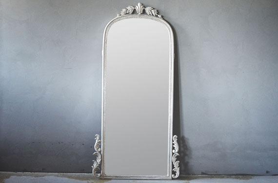 Ultra Antikk sølv Trend Design Barokk Speil - Dorothea.no JA-17