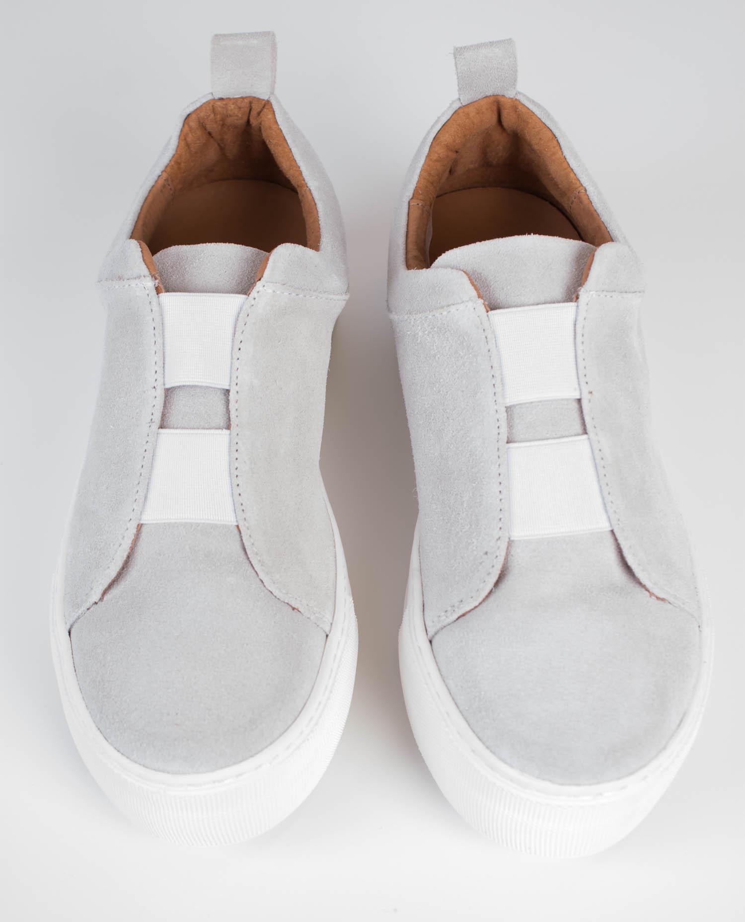 Grå Selected Femme Sfaida Sneakers