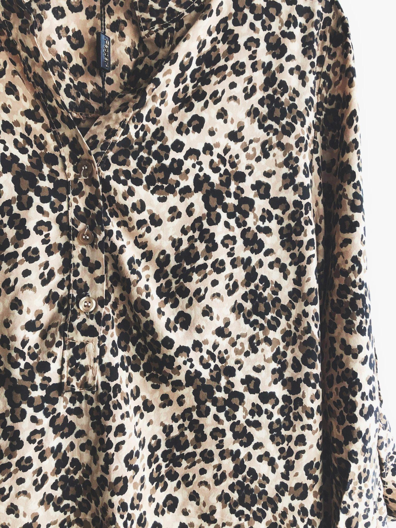 Leopard Bluse Dorothea.no