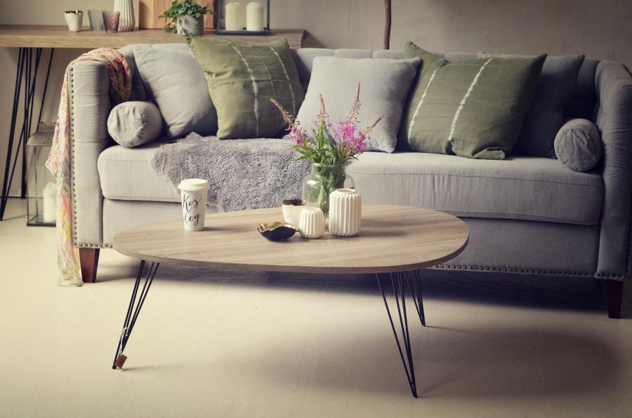 Lampe Stuebord Interesting Sofa Og Puff Fra Ikea Her Og